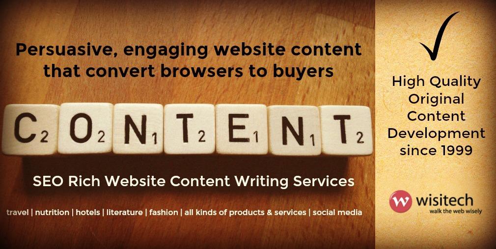 Wisitech SEO Website Content
