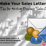 Essential Ingredients of a Good Sales Letter – Part I – What It Can Do For Your Business