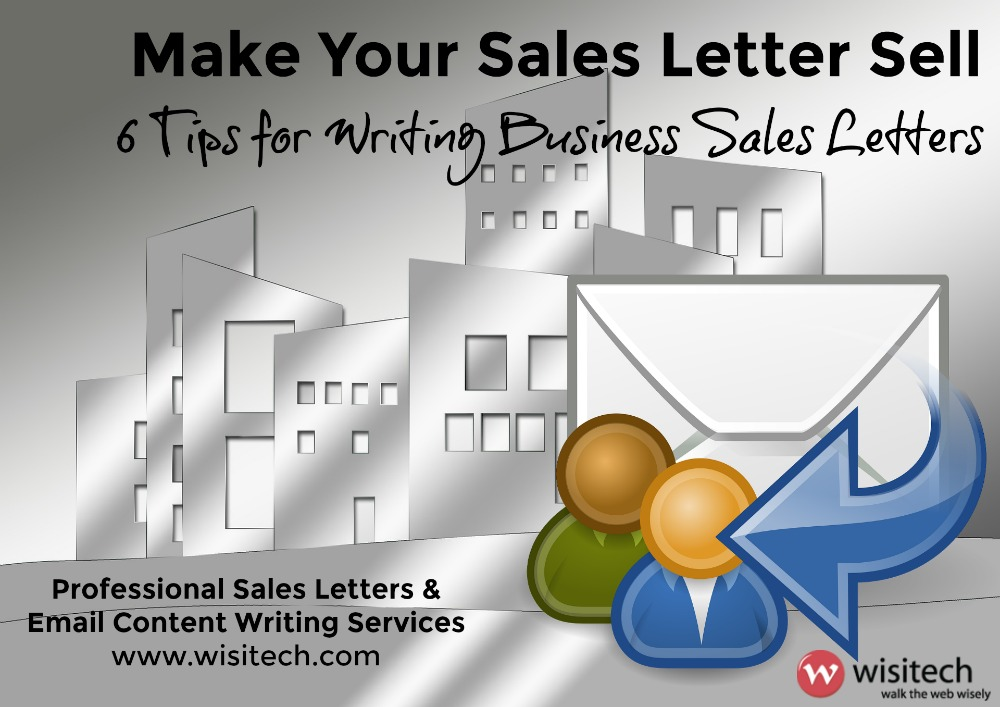 business sales letters writing
