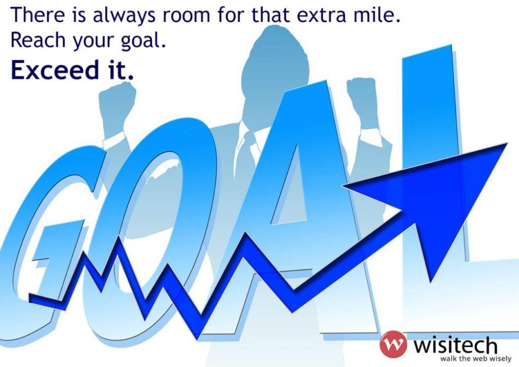 goal achievement wisitech web solutions