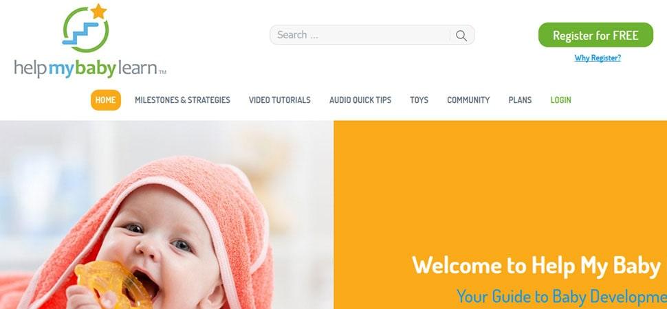 customized wordpress website development on Helpmybabylearn
