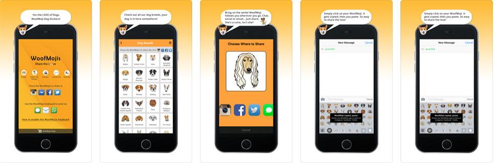 Woof Mojis– Apps Development Company