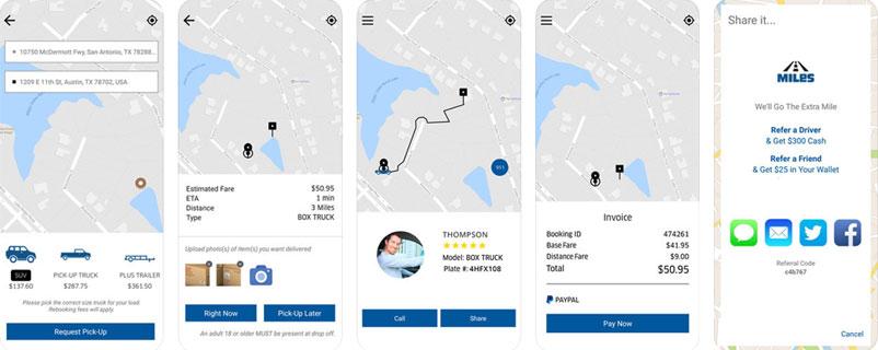 Miles App – Mobile Application Development Company USA