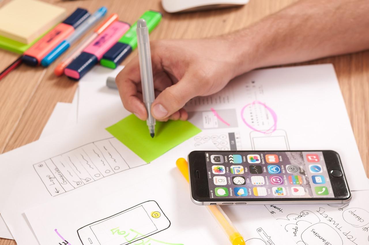 UX/UI mobile app