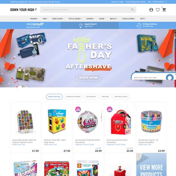 Cs cart Ecommerce Web Site Design