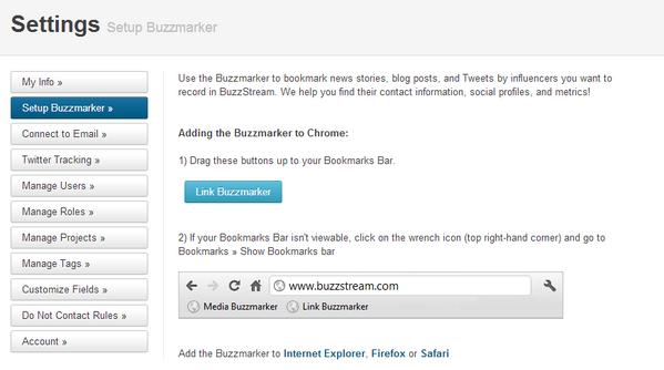 buzzstream SEO Tool