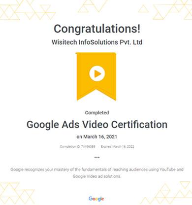 google video ads services company